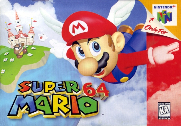Super Mario 64 cover art