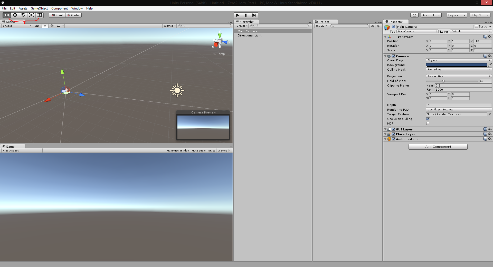 Unity Beginner to Hero Part 1: Introduction and Setup
